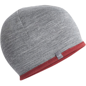 Icebreaker Pocket Hat, cabernet/gritstone heather